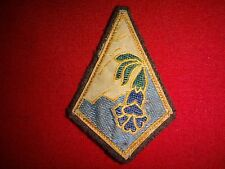 """Vintage FRENCH Army 27th MOUNTAIN INFANTRY BRIGADE """"Alpine"""" Cloth Patch"""