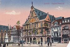 AK Gent Gand 1917 Théatre Flamand Flandern Feldpost