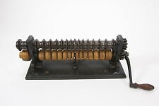 Randall & Co. Antique Leather Creasing & Embossing Machine#1 Patented 1861 & '75