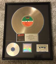 "Skid Row RIAA Platinum Sales Award ""Skid Row"""