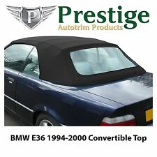 BMW E36 Convertible Top Soft Top Tops Roof Black Mohair Canvas 1994-2000
