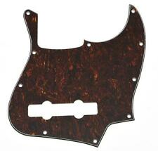 USA Spec Red Black Tortoise 5 String Jazz J Bass Pickguard Fits American Fender
