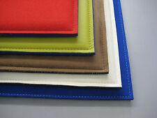 Sitzkissen, Bank-/Stuhlauflage Leder/Filz nach Maß bis 38x38 cm in 24 Farben