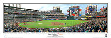 New York Mets HISTORIC FIRST PITCH AT CITI FIELD (2009) Panoramic Poster Print