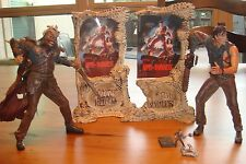 "Army of Darkness - Movie Maniacs/McFarlane 2001 - Ash & Evil Ash 7"" Figures"