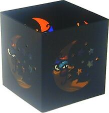 "69000 Square 3"" Moon Star Metal Tea Light Candle Holder Cute Space Night Sky"