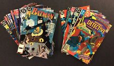 BATMAN Comic Book Lot of 25! DC 1978-1992 DETECTIVE COMICS No Duplicates Fine