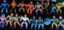 Lot of 18 Vintage He-Man MOTU Action Figures, Mattel, Loose LOTS OF PICS
