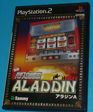 Jissen Pachi-Slot Hisshouhou! Aladdin - Sony Playstation 2 PS2 Japan - JAP