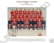 1970-71 MONTREAL CANADIENS STANLEY CUP CHAMPIONS 8X10 TEAM PHOTO