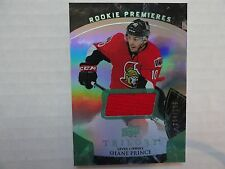 Shane Prince 2015/16 Trilogy Rookie Premieres 304/599 THICK SLAB CARD Senators