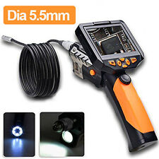"LCD da 3.5 ""Video Ispezione Endoscopio Pipe Camera Borescope Rotazione di 360 °"