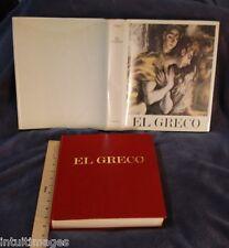 EL GRECO 1541-1614 Jose Gudiol Viking Press 1973 Domenikos Theotokopoulos