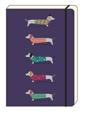 Artfile Frank Sausage Dog A5 Notebook - Lined notebook - Gift idea - Dachshund