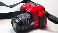 Pentax K K-r 12.4MP Digital SLR Camera - RED BODY +18-55mm Lens +BATTERY+CHARGER