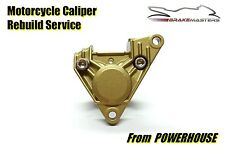 Aprilia RS 125 rear brake caliper mechanical rebuild service 1999-2005