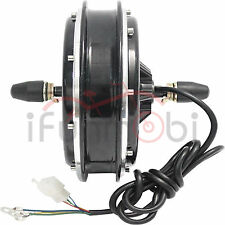 36V/48V 1000W Brushless Gearless DC Front Wheel Hub Motor For Electric Bike