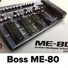 New BOSS ME-80 GUITAR PEDAL EFFECTS ME80 + Original Boss PSA120 Ac Adapter