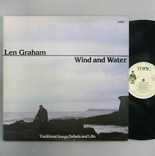 "Len Graham - Wind and Water - NM / EX - 12"" Vinyl LP - 12TS334"