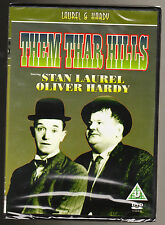 LAUREL AND HARDY - THEM THAR HILLS - BLACK & WHITE - NEW & SEALED R2 DVD