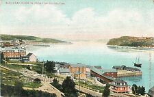 A View Of The Saguenay River In Front of Chicoutimi, PQ Quebec Canada