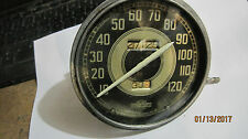 Harley Knucklehead 1941 1946 Speedometer orginal can and face 1942 1943 1944 45