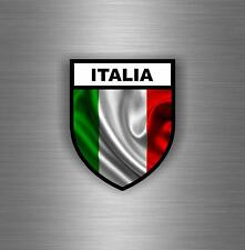 Sticker car moto biker flag decal shield italy military airsoft tuning italian