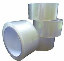 Clear Tape 2'' Transparent House Removal Parcel Packing  x  1 Roll