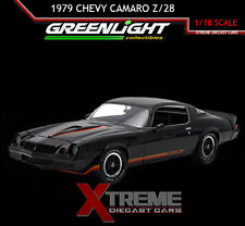 GREENLIGHT 12905 1:18 1979 CHEVY CAMARO Z/28 BLACK HARD TOP