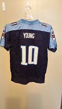 TENNESSEE TITANS VINCE YOUNG FOOTBALL JERSEY SIZE L YOUTH