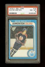 1979 WAYNE GRETZKY OPC O PEE CHEE RC #18 PSA 8 NM/MT  **New PSA Holder, Invest**