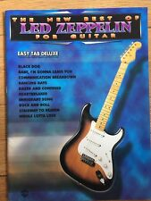 The New Best of Led Zeppelin for Guitar Easy Tab Deluxe