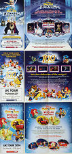 3 X DISNEY ON ICE FROZEN - WORLDS OF FANTASY & 100 YEARS OF MAGIC FLYERS