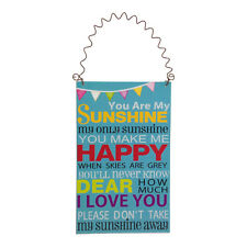 You Are My Sunshine Small Plaque – Children – Sign – Wooden – Picture
