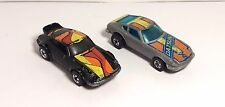 Hot Wheels Turbo Blast 600 Complete Set - Very Rare! Porsche P-911 + Z-Whiz