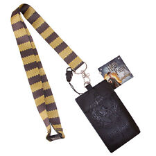 Harry Potter Hufflepuff Lanyard With Pass Holder
