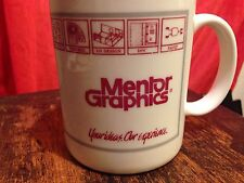VTG Mentor Graphics picED 1990's Mug/Coffee Cup! Silicon Computer Collectable!