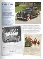 1936 Chevy Article - Must See !! - Cabriolet + Coupe  + Town Sedan