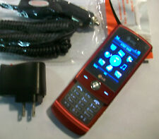 GOOD!!! LG Shine cu720 RED Camera Bluetooth 3G GSM Video Slider AT&T Cell Phone