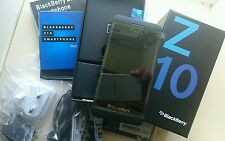 BLACKBERRY Z10 16GB black brand new boxed téléphone portable débloqué 24HR gratuite post