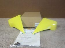 MAZDA RX-8 OEM LIGHTING YELLOW REAR BODY AERO FLARE SET F151-V4-930F-93 #1402