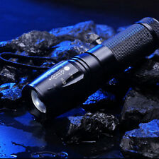 Zoomable Torch Light 5000LM LED XM-L T6 2016 AAA Hot Flashlight NEW