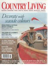 COUNTRY LIVING MAGAZINE June 2002 Seaside Colours AL