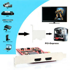 YK762H PCI-E TV PC Capture Card HDMI Definition Video Equipments for PS 3 4 Xbox