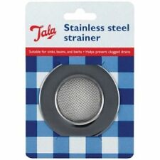 Tala Stainless Steel Kintchen Sink Bath Basin Hair Trap Plug Hole Strainer New