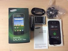 Samsung GALAXY Ace GT-S5830 - Onyx Black Unlocked Smartphone Brand New Boxed