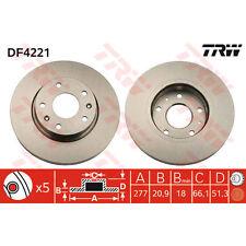 Bremsscheibe, 1 Stück TRW DF4221