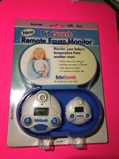 Remote Fever Monitor Bebe sounds Baby Temperature BR102