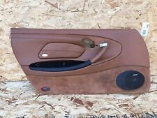 PORSCHE BOXSTER S 986 (98-04) 996 LEFT DRIVER BROWN DOOR PANEL COVER LEATHER