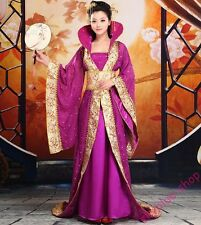 Womens New Chinese Ancient Costume Traditional Trailing Infanta Dress Robe Dress
